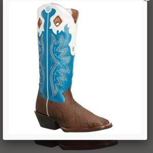 Tony lama Walnut Elephant Grain Western  Boot